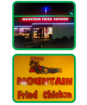 Mountain Fried Chicken Location