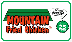 Mountain Fried Chicken, Logo
